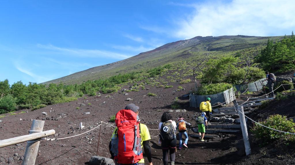 富士山 時間 富士山の登山コース