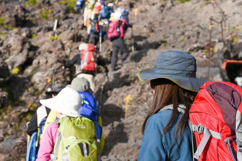 登山帽子の選び方