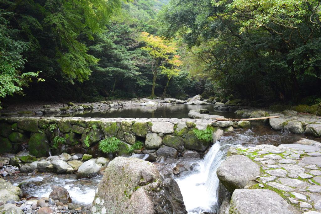 長崎 川遊び 轟峡