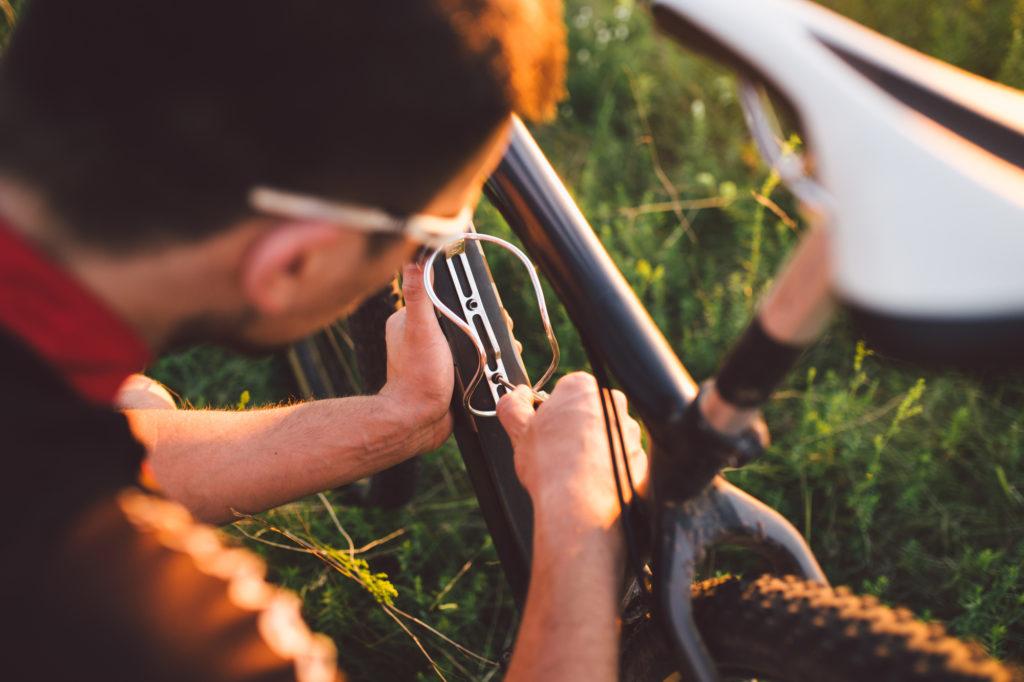 ロードバイク ボトルゲージ