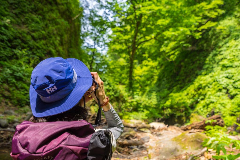 登山用ハット 夏の登山帽子