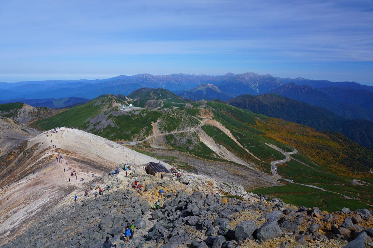 初心者でも3000m級登山!乗鞍岳登山がおすすめの理由はなに?