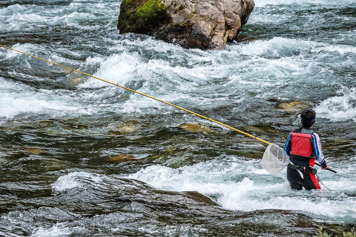 渓流 ミャク釣り