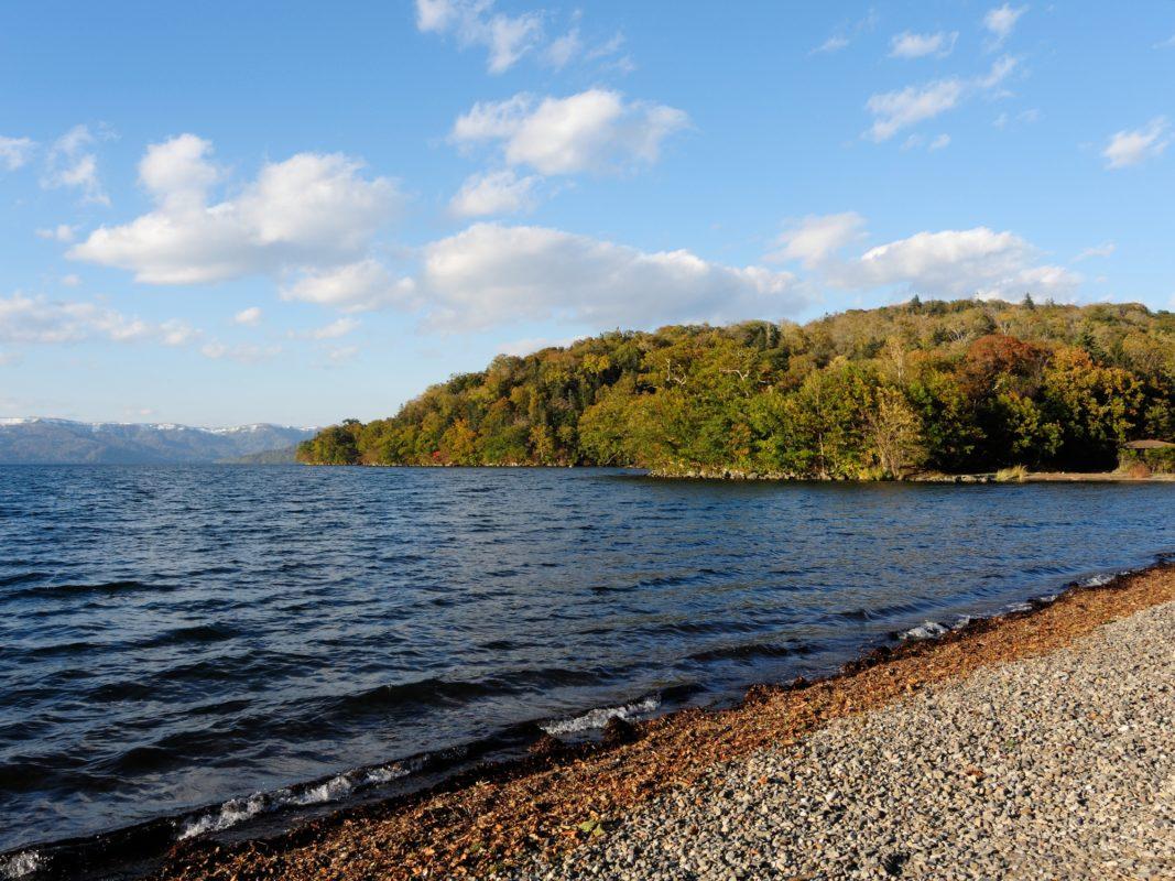 和琴半島湖畔 キャンプ場