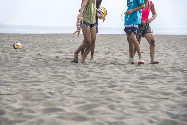 千葉県館山市でビーチバレーボール