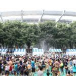 さいたま新都心で第18回たまアリ△タウン 「水かけまつり&ワールドフェスタ」を7/26~7/28に開催