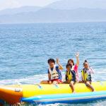【徳島県・アオアヲ ナルト リゾート】青い空の下、ファミリーで楽しめるマリンアクティビティが充実!アオアヲの夏!ドラゴンボート・ビーチトランポリンなど