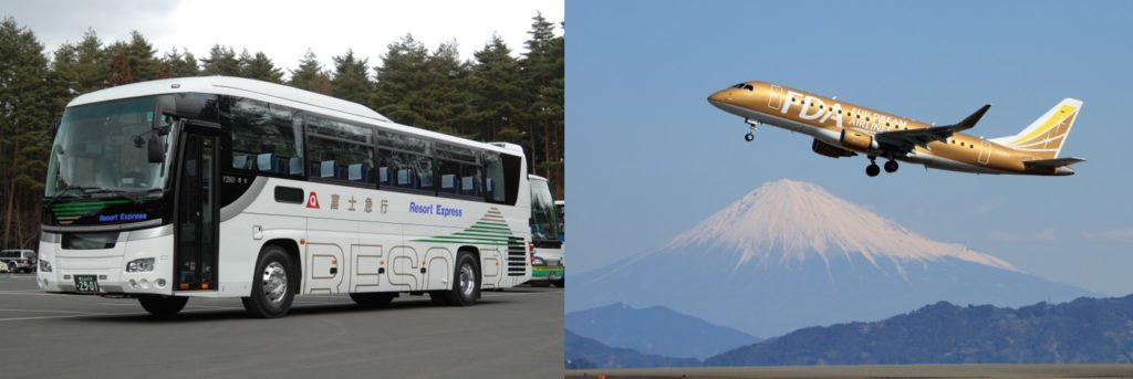 富士山静岡空港から富士登山