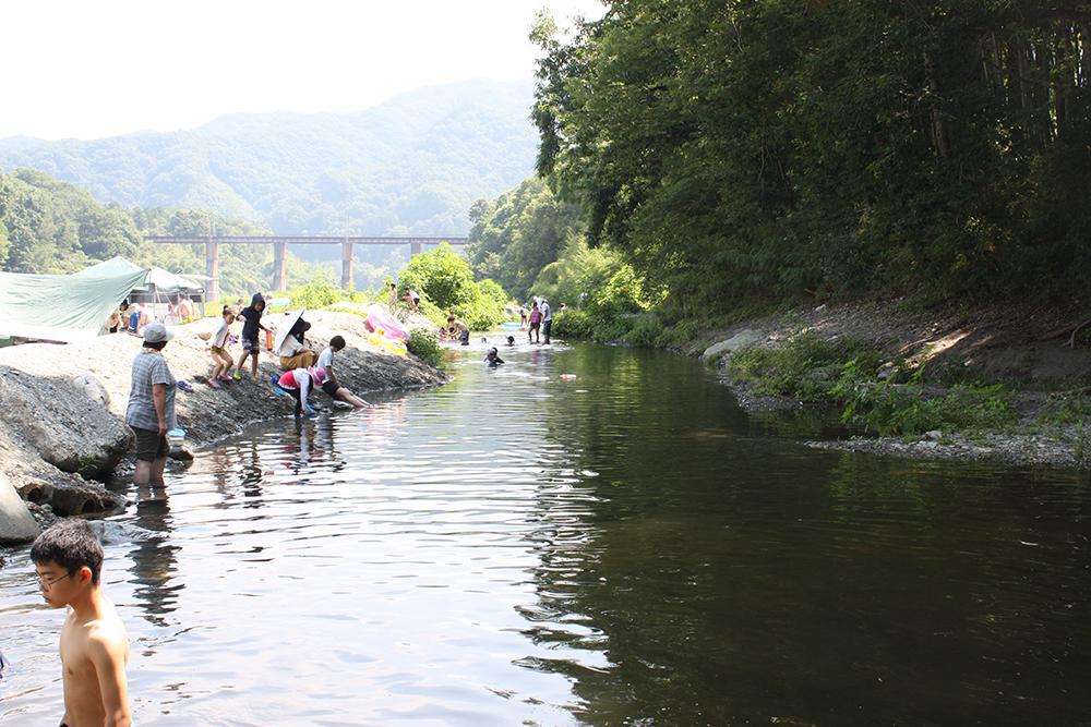 秩父・長瀞 川遊び みなの親鼻河原