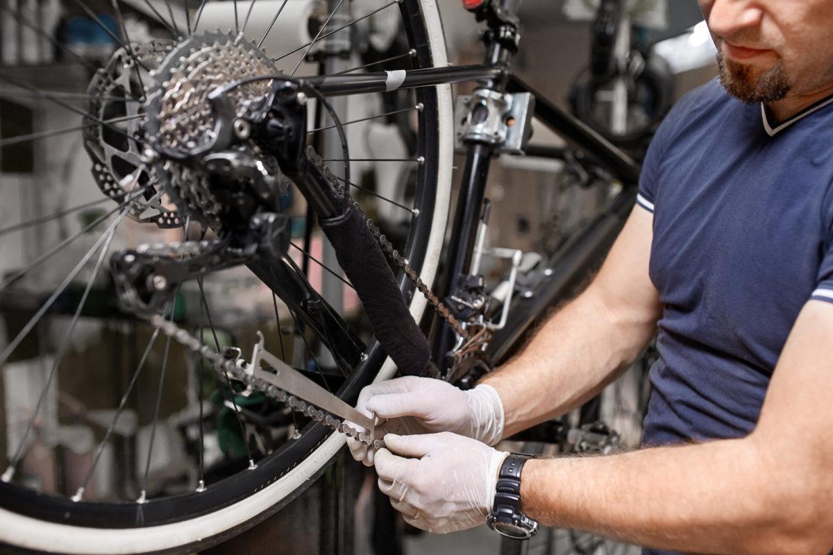 ロードバイク 自転車 ディスクブレーキ メンテナンス