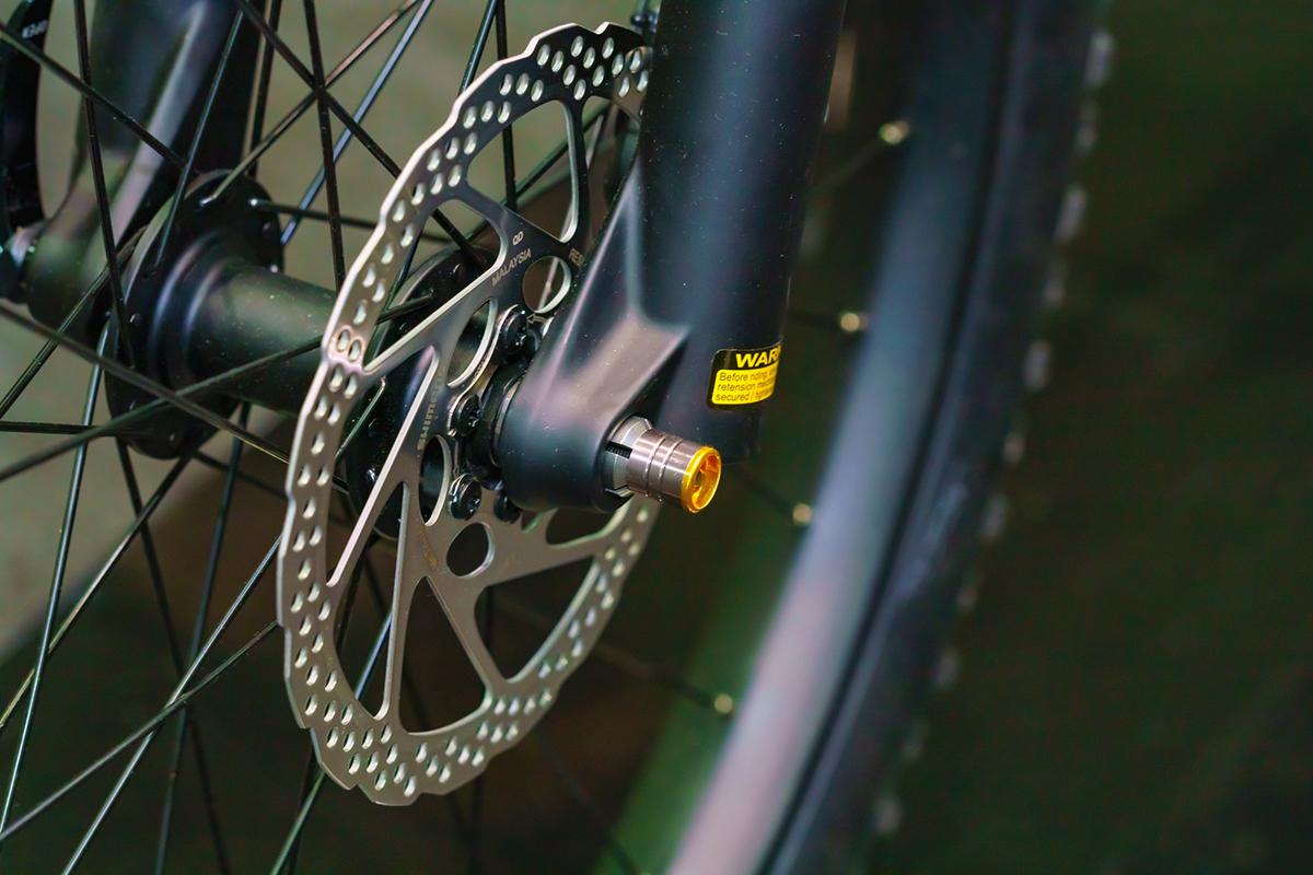 ロードバイク ブレーキ