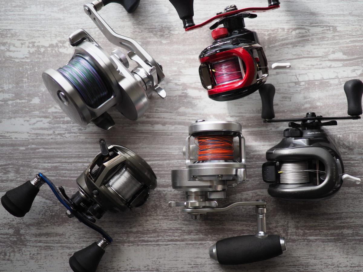 渓流釣り ベイトリール 選び方