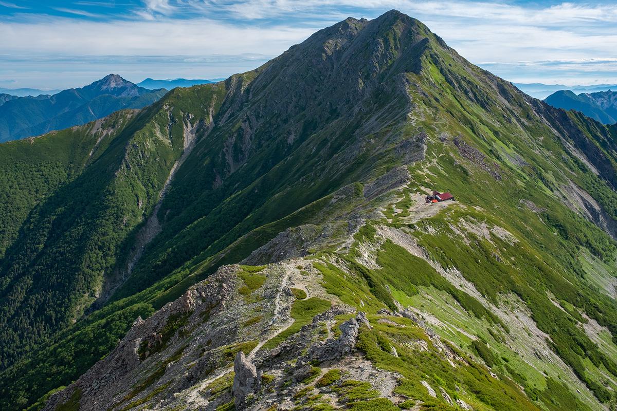 北岳 登山 山梨