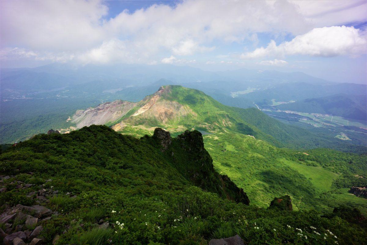 福島 会津 磐梯山