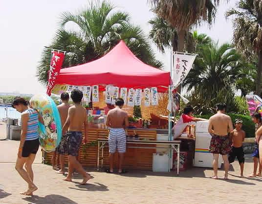 名古屋のサンビーチ日光川