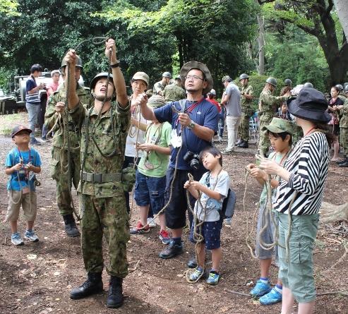 陸自駐屯地で夏休みの思い出づくり  東京・練馬 8月21、22日「親と子のアウトドアキャンプ」参加者募集
