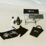 フェスやビーチ、キャンプなど、夏のレジャーシーンを満喫するXLARGE、X-girl、OPENING CEREMONY によるトリプルコラボレーション