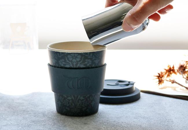 Ecoffee Cup ウィリアム・モリスシリーズの新しい柄が8ozサイズ