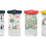オウルテック、海辺に映えるカワイイ&オシャレなスマートフォン用防水ケースを4種類発売