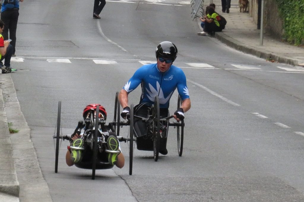 パラサイクリング, スペイン