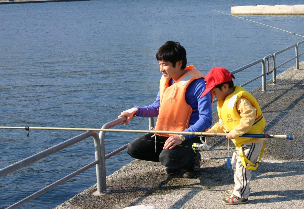 子ども 釣り
