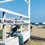 """""""ビーチ×ソーシャル""""をコンセプトにしたビーチエンタテインメントスタジオALPHABOAT BEACH STUDIO BY THE SEA都市型のビーチリゾート、三浦海岸 夏小屋にオープン!"""