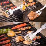 BBQに必要な4つの調理器具を1本にまとめたマルチツール「BBQ011A」ソロキャンプにピッタリなコンパクトサイズ