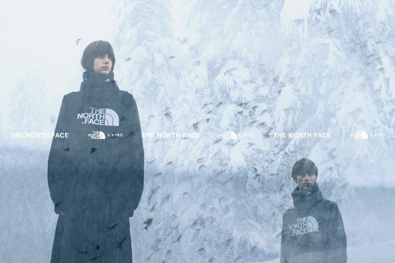 THE NORTH FACE×HYKE 「2019秋冬コレクション」9月18日より発売