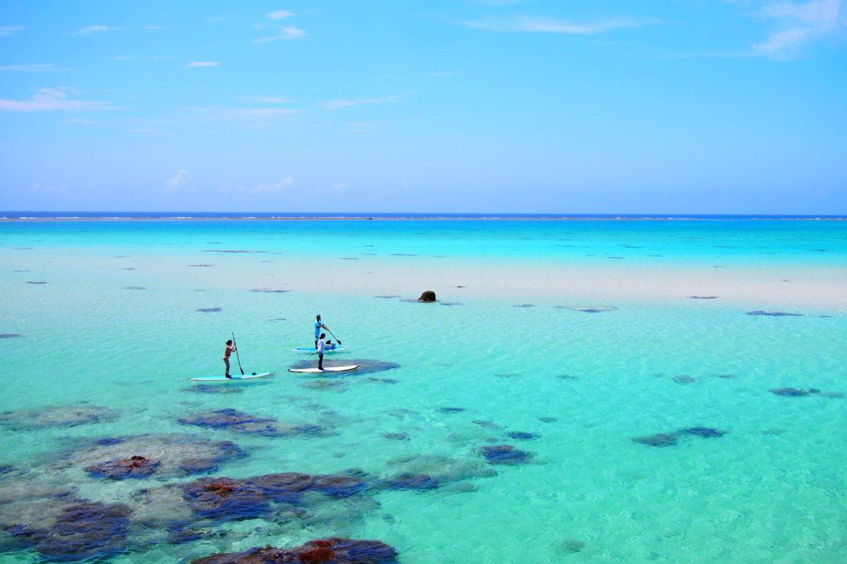 SUPパラダイス沖縄!沖縄でのSUPの楽しみ方と場所を紹介