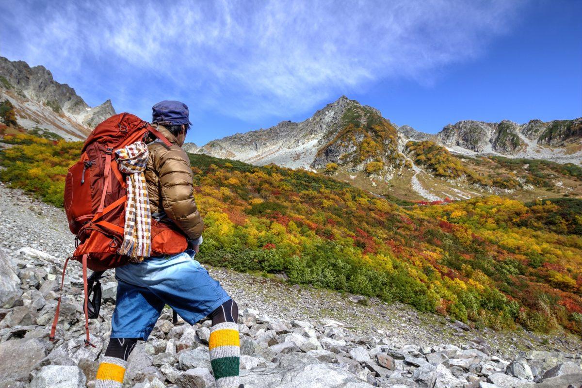 秋 登山 服装