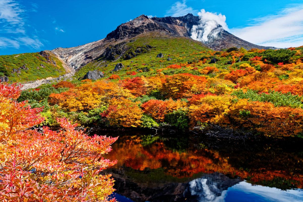 茶臼岳で紅葉登山を楽しもう!見ごろ時期とおすすめコース