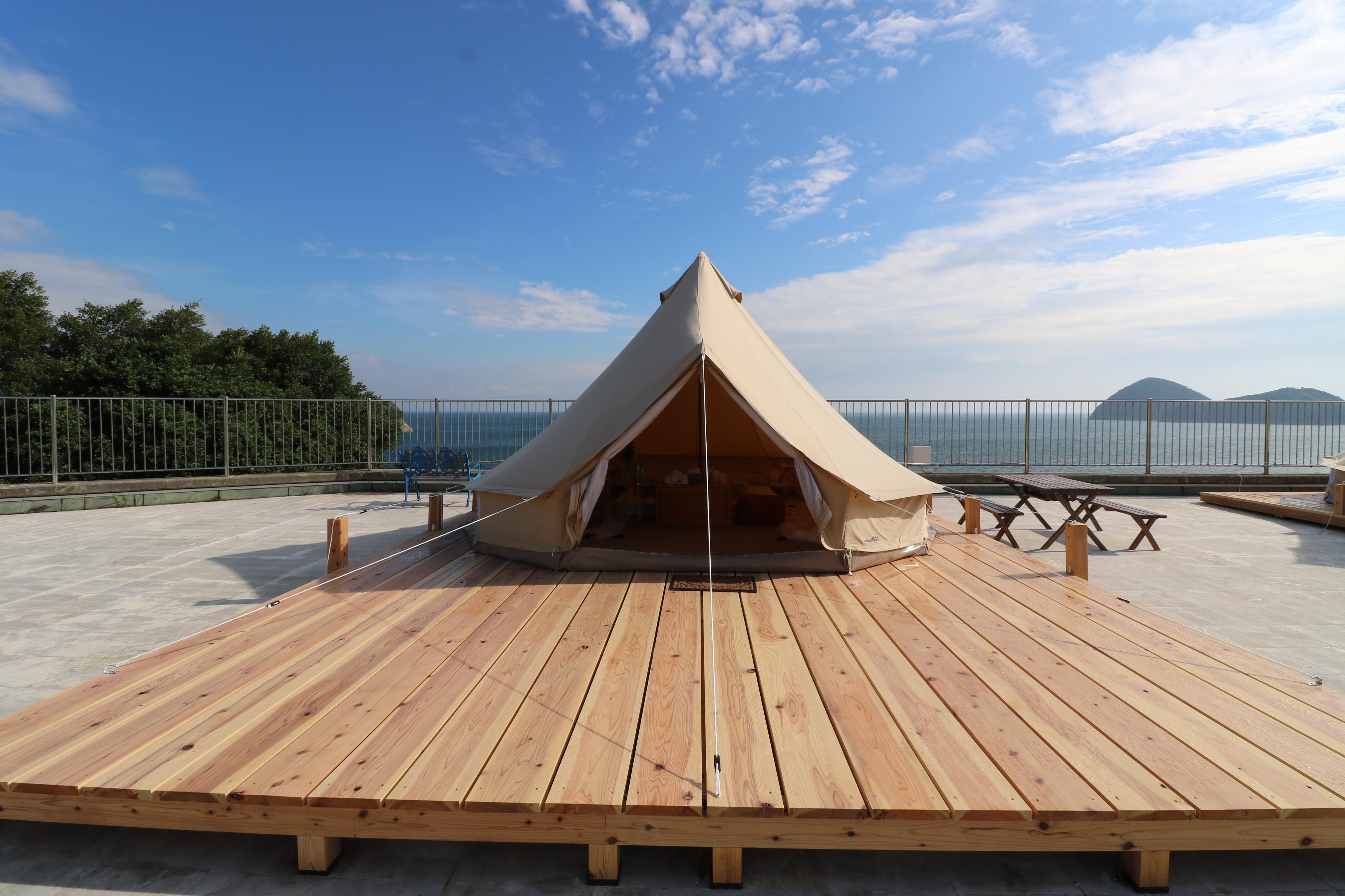 地方自治体遊休地を活用してテント型ホテル経営ができるサービスGlamPicks(グランピックス)がスタート【遊休地の有効活用を促し、観光から地方創生に貢献】