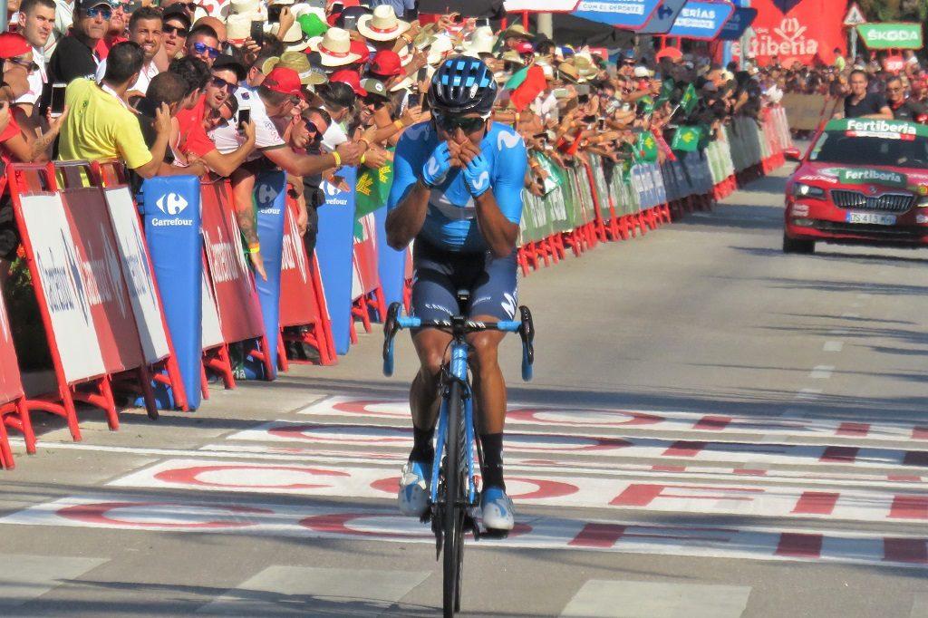 第2ステージ優勝のキンタナ選手
