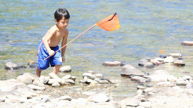 川遊びで釣りを楽しむ!川遊びでの釣りは何が釣れる?