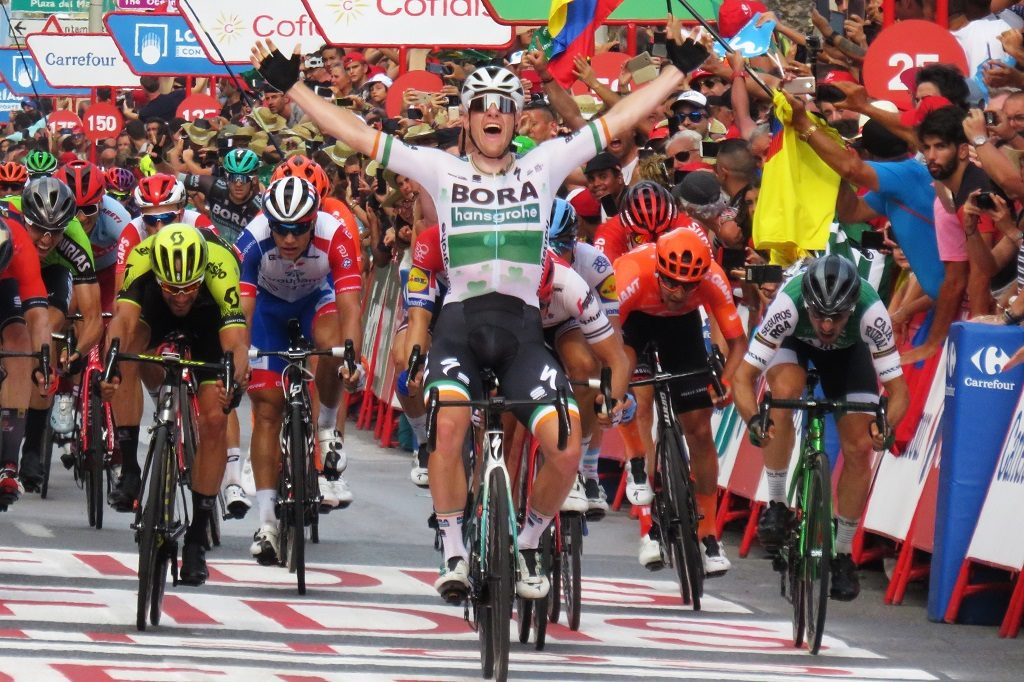 第3ステージ優勝のサム・ベネット選手