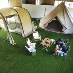 山陰初の屋内型キャンプ場「EG(イージー)キャンプ場」9/21プレオープン