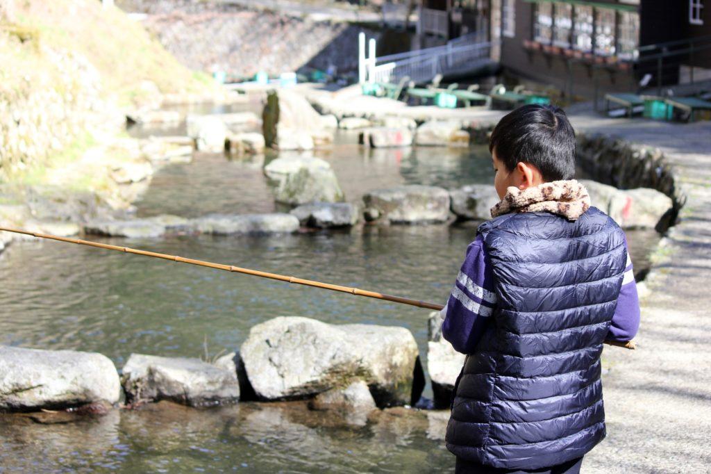 関西 管理釣り場 朽木渓流魚センター