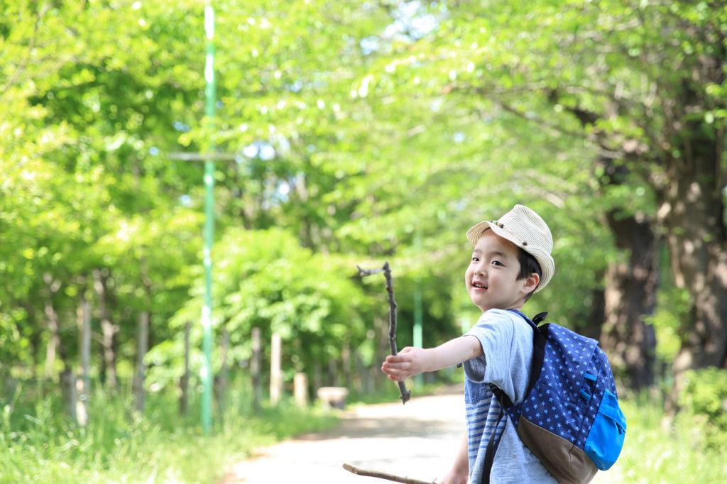 親子登山,関西