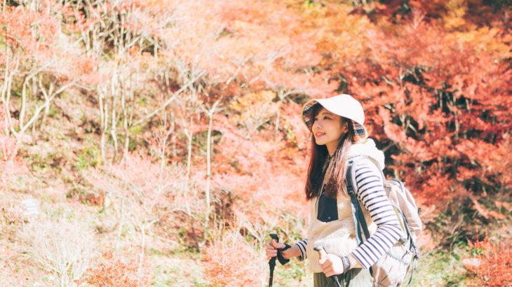 秋冬 ハイキング 服装