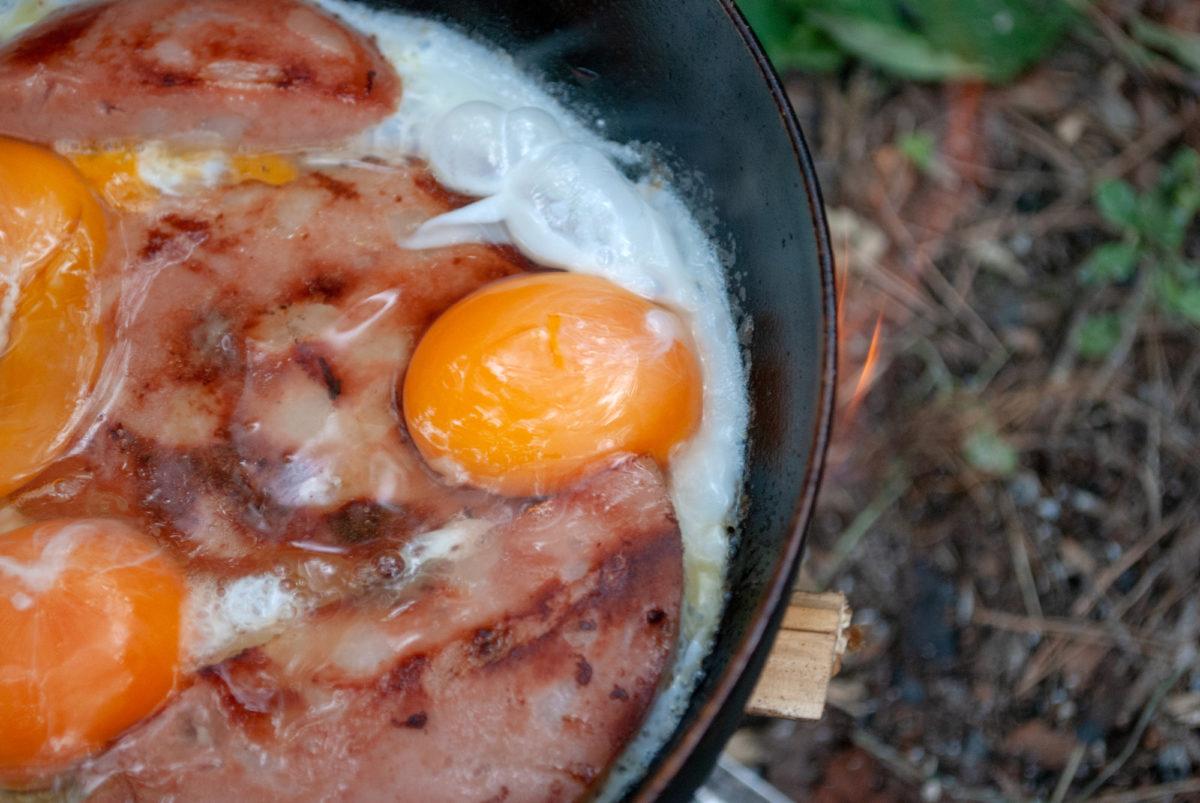 キャンプ飯 フライパン