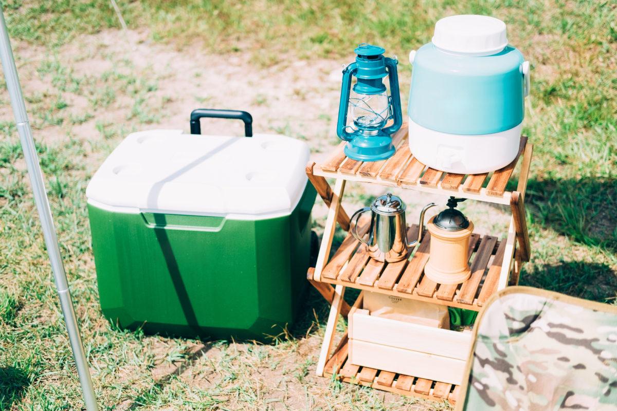 キャンプ キッチン収納