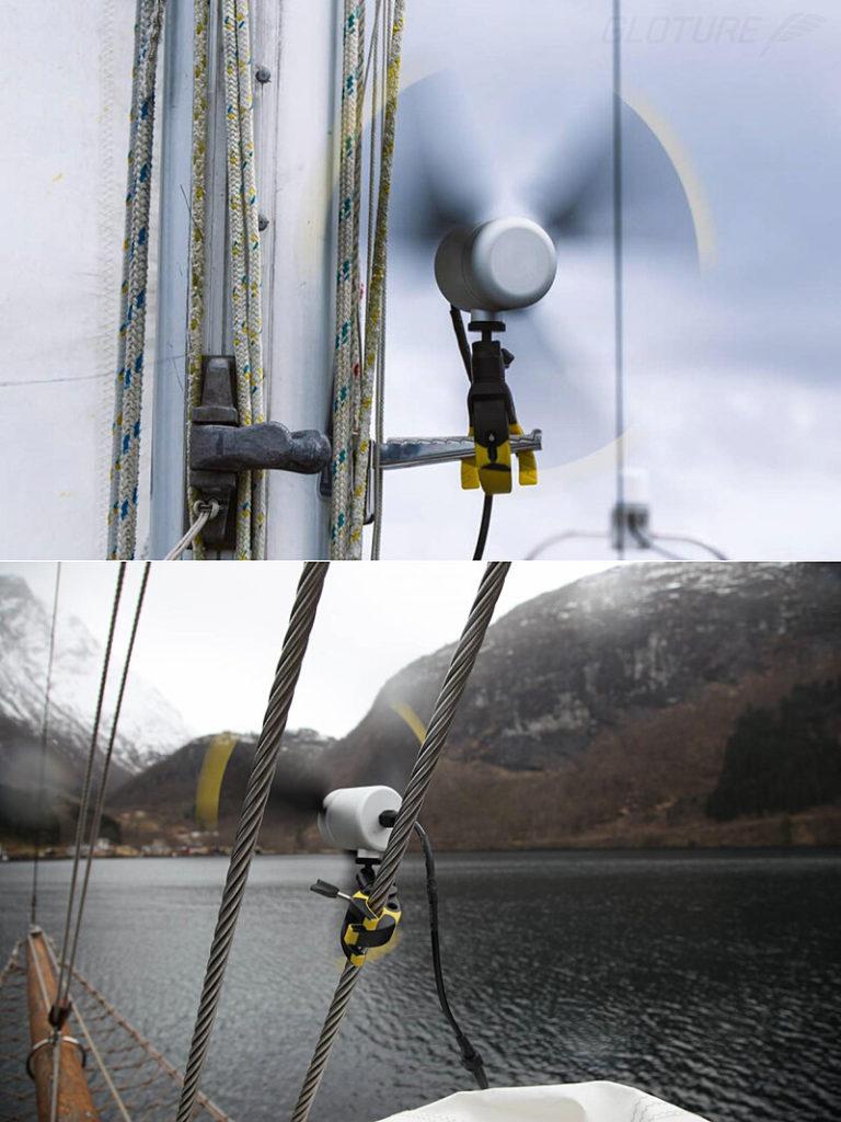 ポータブル風力発電機「Infinite Air」