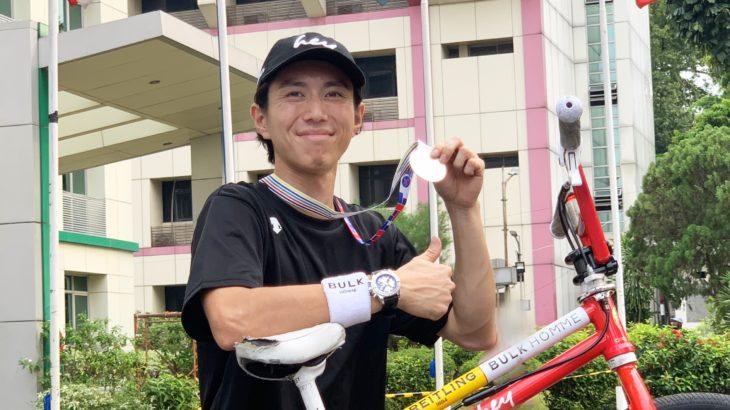 【サイクレント】 BMXフリースタイル・アジア選手権で池田貴広が準優勝。初代日本代表に抜擢