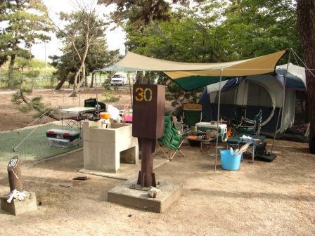 鳥取県や島根県のキャンプ 釣り