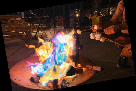 冬の新たなBBQ「炎と温もりのある冬のZAZAZA~海とこたつ~」を11/29(金)から営業スタート