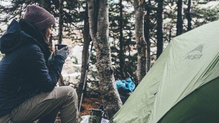 秋キャンプ ファション