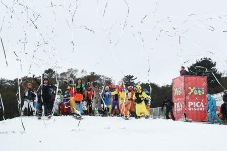 富士山2合目のスキー場 「イエティ」21年連続で日本一早く、10月25日(金) オープン!