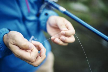 釣り糸の結束は強力に!初心者がまず覚えておきたい基本の釣り糸の結び方