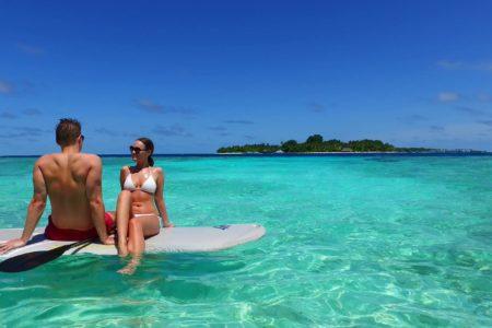 クルージングからサーフィンまで、楽しみ無限大の海SUP
