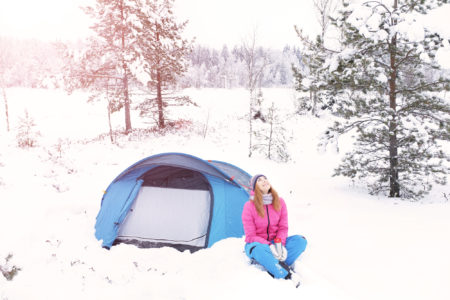 秋冬登山でテント泊におすすめテントをご紹介!テント泊におすすめスポットも
